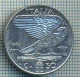 494 MONEDA - ITALIA - 50 CENTESIMI -anul 1940 - magnetica -starea care se vede