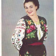 Carte postala(ilustrata) -Actori ai teatrului si cantecului-MARIANA LUNGU