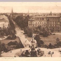 CPI (B2496) GERMANIA, BERLIN, LUTZOWPLATZ, EDITURA KUPFERDRUC, CIRCULATA 19.6. 1913, STAMPILA, TIMBRU, Europa, Printata
