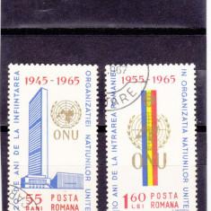 20 ANI ONU ; 1965