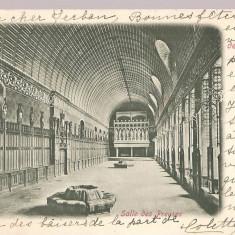 CPI (B2492) FRANTA, CHATEAU DE PIERREFONDS, SALLE DE PREUSES, EDITURA P.S. a D. ERIKA, CIRCULATA 29.12. 1902, STAMPILE, TIMBRU