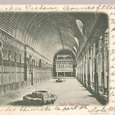 CPI (B2492) FRANTA, CHATEAU DE PIERREFONDS, SALLE DE PREUSES, EDITURA P.S. a D. ERIKA, CIRCULATA 29.12. 1902, STAMPILE, TIMBRU, Europa, Printata