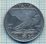 506 MONEDA - ITALIA - 50 CENTESIMI -anul 1941 - magnetica -starea care se vede