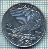 497 MONEDA - ITALIA - 50 CENTESIMI -anul 1940 - magnetica -starea care se vede