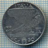 495 MONEDA - ITALIA - 50 CENTESIMI -anul 1939 - nemagnetica -starea care se vede