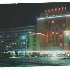 Carte postala(ilustrata) -BRasov -Hotel Carpati - Carte Postala Transilvania dupa 1918, Necirculata, Printata