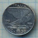 509 MONEDA - ITALIA - 50 CENTESIMI -anul 1940 - magnetica -starea care se vede