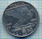 504 MONEDA - ITALIA - 50 CENTESIMI -anul 1941 - magnetica -starea care se vede