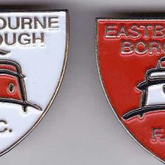 Insigne fotbal FC EASTBOURNE BOROUGH - Insigna fotbal