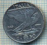 488 MONEDA - ITALIA - 50 CENTESIMI -anul 1940 - magnetica -starea care se vede