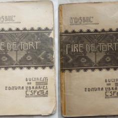 G. Cosbuc, Fire de tort, Editura Librariei C. Sfetea, 1910 - Carte Editie princeps