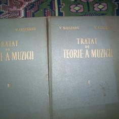 Tratat de teorie a muzicii(2volume)-V.Giuleanu, V.Iusceanu - Carte Arta muzicala
