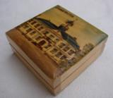 Cutie din lemn inscriptionata Hedemora