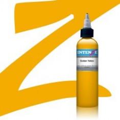 Intenze Golden Yellow 30 ml tus pentru tatuat - Vopsea tatuaje