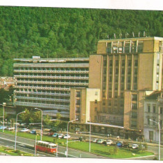 Carte postala(ilustrata) -BRASOV-Hotel Carpati - Carte Postala Transilvania dupa 1918, Circulata, Printata