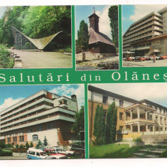 Carte postala(ilustrata) -OLANESTI - Carte Postala Oltenia dupa 1918, Circulata, Printata
