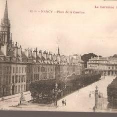 CPI (B2533) FRANTA. NANCY, PLACE DE LA CARRIEREE. LA LORAINE ILLUSTREE, EDITURA P. HELINGER, NECIRCULATA, Europa, Printata