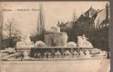 CPI (B2539) GERMANIA. MUNCHEN, WITTELSBACHER BRUNNEN, CIRCULATA 27. VIII. 1909, STAMPILE, Europa, Printata