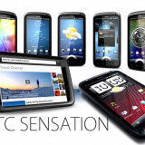 HTC Sensation, starea 10/10, Decodat, Garantie 2 luni, 8Gb, 8Mpx camera, Full HD Video, Perfect