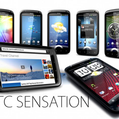 HTC Sensation, starea 10/10, Decodat, Garantie 2 luni, 8Gb, 8Mpx camera, Full HD Video, Perfect - Telefon mobil HTC Sensation