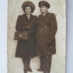 FOTOGRAFIE OFITER ROMAN DE AVIATIE DIN ANII 30 - Fotografie veche