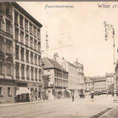 CPI (B2528) AUSTRIA, WIEN, VIENA, FAVORITENSTRASSE, EDITURA P. LEDERMANN, CIRCULATA 25. IX. 1913, STAMPILA, TIMBRU, Europa, Printata