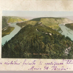 CPI (B2518) GERMANIA. MOSEL, MARIENBURG, CIRCULATA 7 IAN 1905, STAMPILE, TIMBRU, Europa, Fotografie