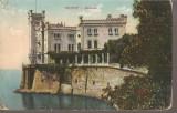 CPI (B2537) ITALIA. TRIESTE. MIRAMAR, CIRCULATA 25.OCT. 1912, STAMPILE, Europa, Printata
