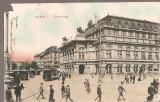 CPI (B2532) AUSTRIA, WIEN, VIENA, OPERNRING, EDITURA BRUDER TIMAR, CIRCULATA IAN. 1911, STAMPILE, Europa, Printata