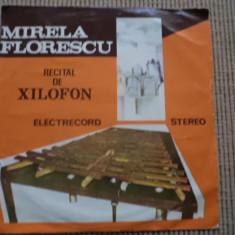 Mirela florescu recital de xilofon disc single vinyl muzica clasica electrecord, VINIL