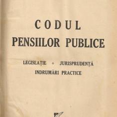 Petre Giurginca / Ion Coconetu - Codul pensiilor publice ( legislatie, jurisprudenta, indrumari practice ) - 1939 - Carte Dreptul muncii