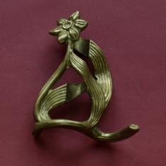 Sfesnic / suport de lumanari - model deosebit din alama / bronz !!!!!!!!!