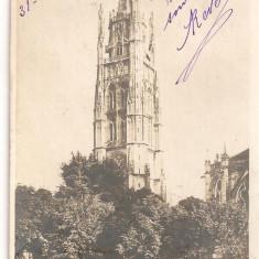 CPI (B2558) FRANTA. BORDEAU, TOUR PEY BERLAND, CIRCULATA 31.8.1909, STAMPILA, TIMBRU, Europa, Printata