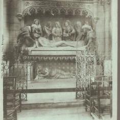 CPI (B2544) FRANTA, AMBOISE, EGLISE LE CHRIST AU TOMBEAU, OCT. 1902, STAMPILE, Circulata, Printata