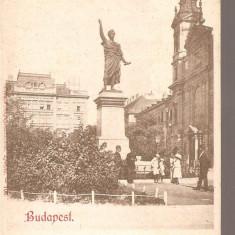 CPI (B2548) UNGARIA. BUDAPEST. PETOFI - SZOBOR, PETOFI - DENKMAL, CIRCULATA 18. IUL. 1900, STAMPILE, TIMBRU, Europa, Printata