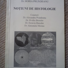 Notiuni de histologie dr horia prundeanu 1999 carte stiinta medicina ilustrata