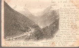 CPI (B2542) FRANTA. LUCHON VALLEE DU LYS, EDITURA LABOUCHE FRERES, CIRCULATA 13. IV. 1903, STAMPILE, TIMBRU, PIRINEI, Europa, Printata