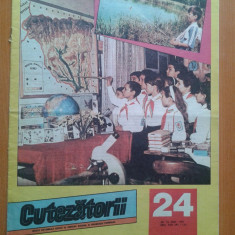 REVISTA CUTEZATORII 1989 NR. 24 - Revista scolara
