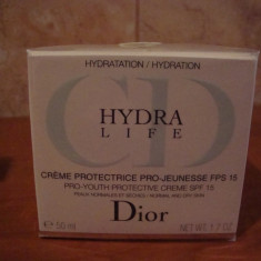 DIOR HYDRA LIFE CREME PROTECTRICE PRO-JEUNESE FPS 15 - Crema antirid Christian Dior