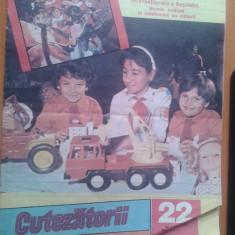 REVISTA CUTEZATORII 1989 NR. 22 - Revista scolara