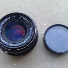 Obiectiv Pentax - M 1:1.7 50mm - Obiectiv DSLR Pentax, Altul, Manual focus, Pentax - K