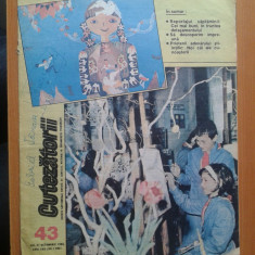 REVISTA CUTEZATORII 1988 NR. 43 - Revista scolara