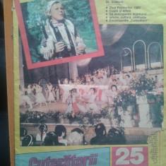 REVISTA CUTEZATORII 1989 NR.25 - Revista scolara