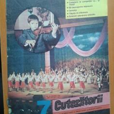 REVISTA CUTEZATORII 1989 NR.7 - Revista scolara