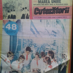 REVISTA CUTEZATORII 1988 NR. 48 - Revista scolara