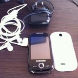 Vand samsung S3650 - Telefon Samsung, Negru, Smartphone, Touchscreen+Taste, MP3 Player: 1, Camera video: 1