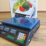 CANTAR ELECTRONIC Piata sau Magazin ACUMULATOR INTERN 40 kg - Cantar comercial, Platforma
