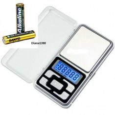 Cantar Bijuterii Digital 0.01g - 100g Afisaj LCD 2 Zecimale + Baterii
