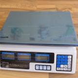 CANTAR ELECTRONIC pentru Piata sau Magazin 40 kg ACUMULATOR INTERN - Cantar comercial, Platforma