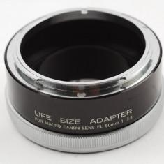 ADAPTOR MACRO CANON FL 50MM 3, 5 - Obiectiv DSLR Canon, Macro (1:1), Canon - EF/EF-S